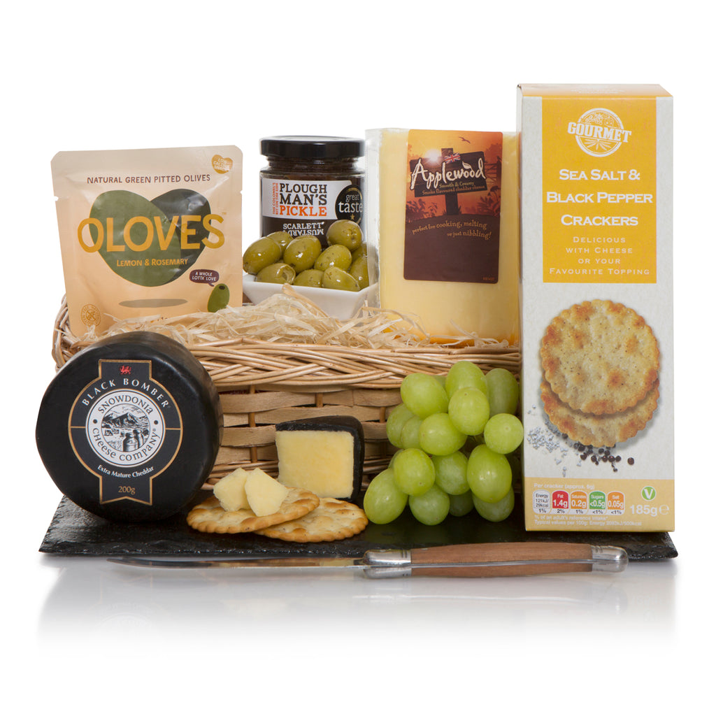 Gourmet Cheese and Cracker Basket