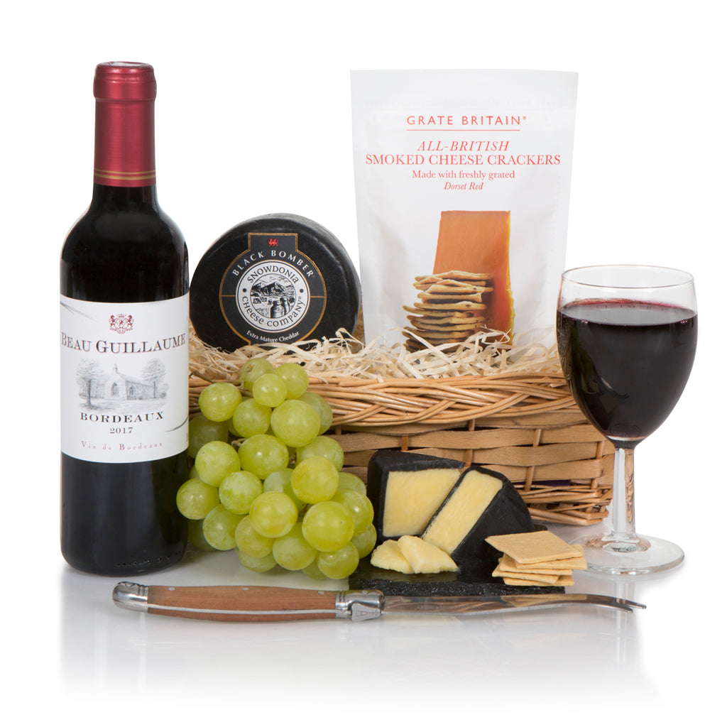 Wine, Gourmet Cheese & Crackers