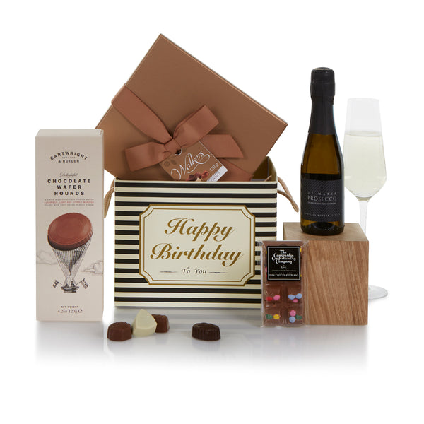 Chocolate and Prosecco Birthday Gift