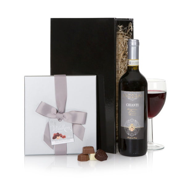 Chianti and Chocolate Gift