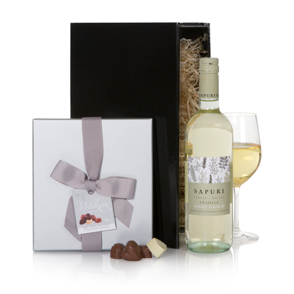 Pinot Grigio and Chocolate Gift