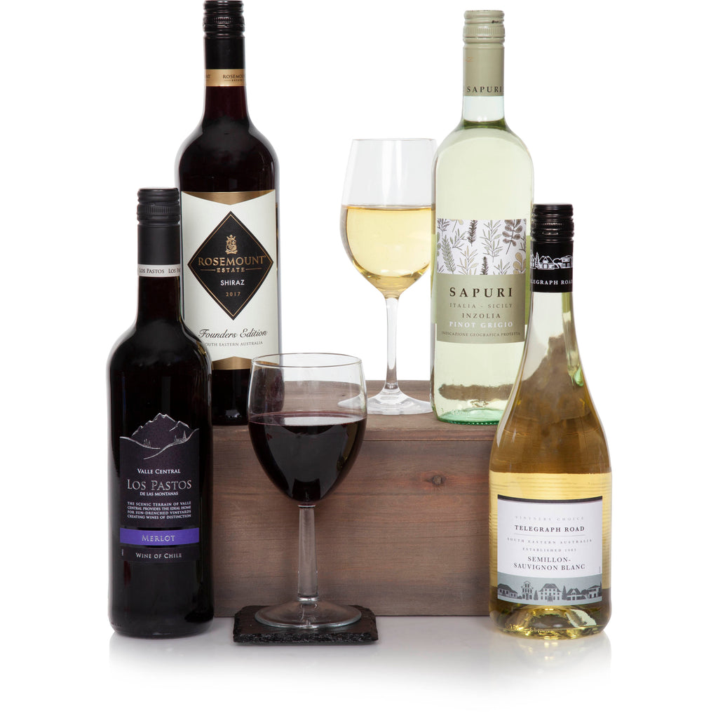 Four Bottle Wine Selection