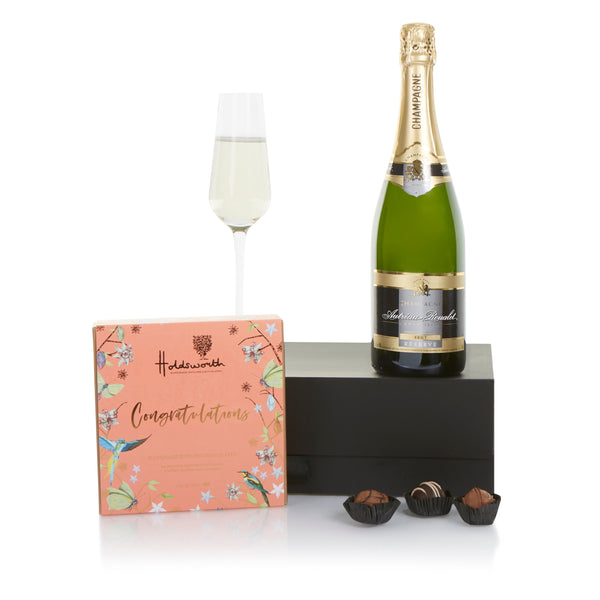 Champagne and Chocolate Celebration