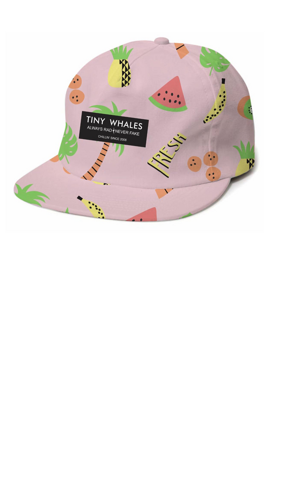 Fresh Fruit Snap Back - Pink/Multi