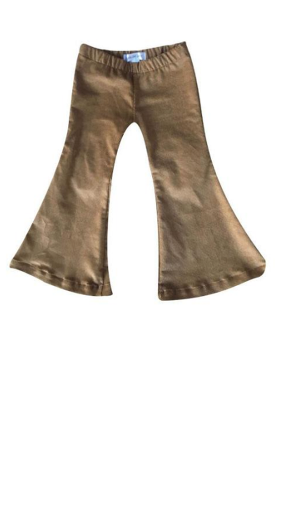 Corduroy Bell Bottoms - Camel