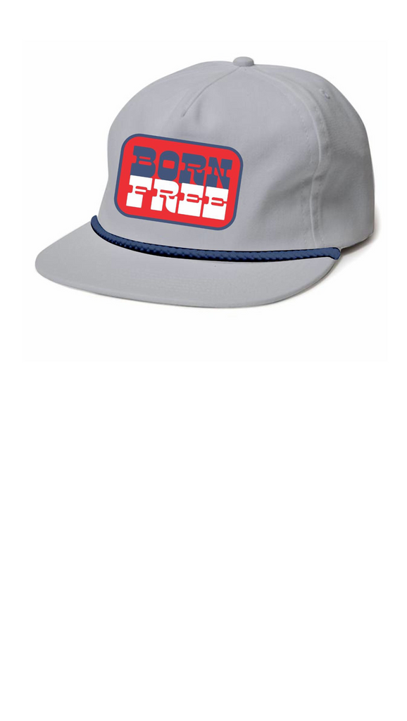 Born Free Snap Back - Gray Twill
