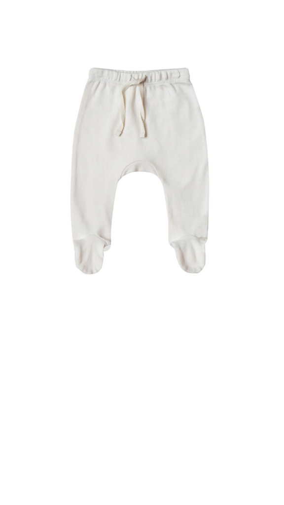 Footed Pant - Ivory