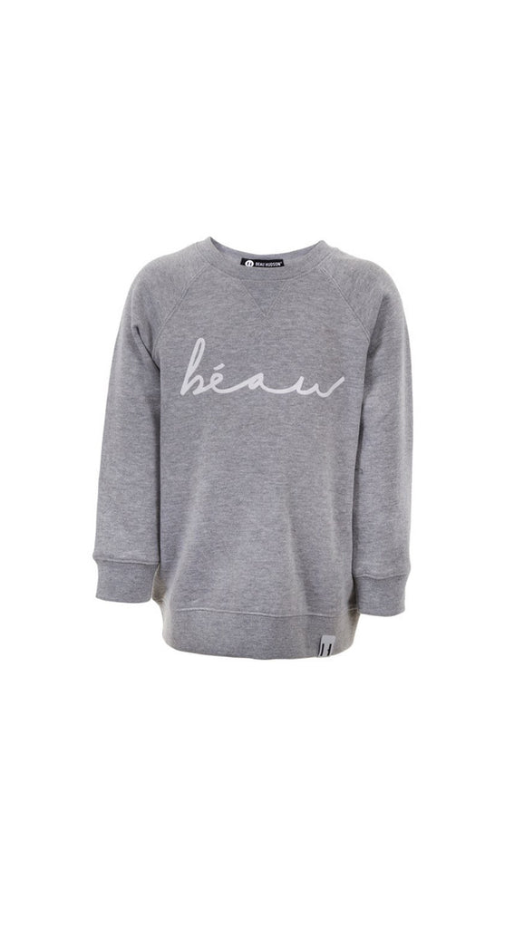 Beau Hudson BEAU sweater - Heather Gray
