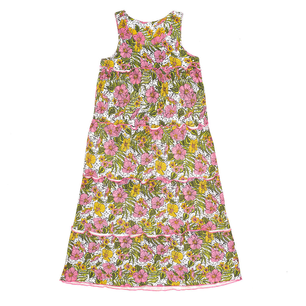 Children of the Tribe, Forever Flower Maxi Dress - Floral Print