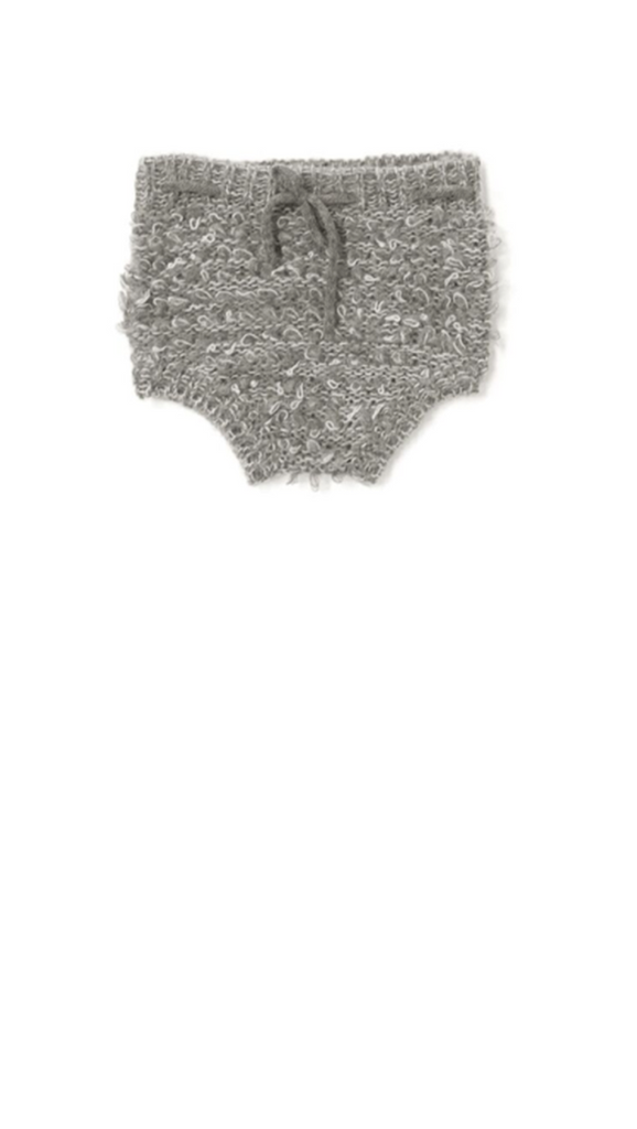 Looped Knit Bloomer - Grey