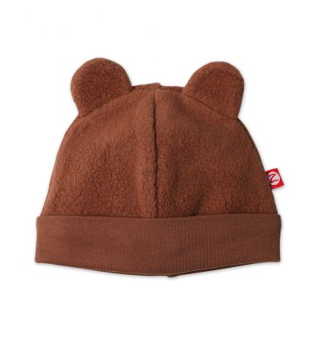 Zutano, Cozie Fleece Hat - Chocolate