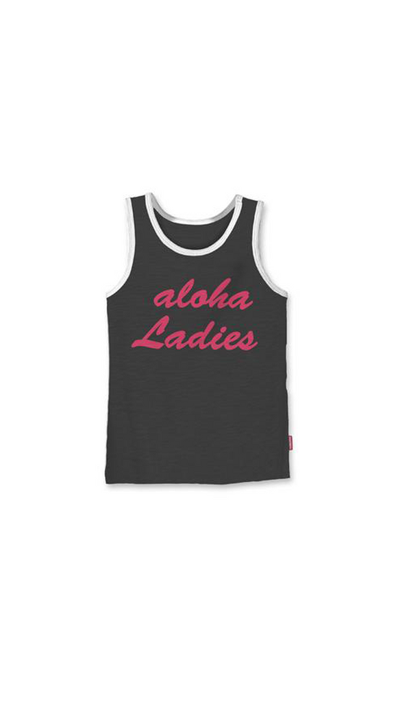 Prefresh, Aloha Ladies Tank - Graphite