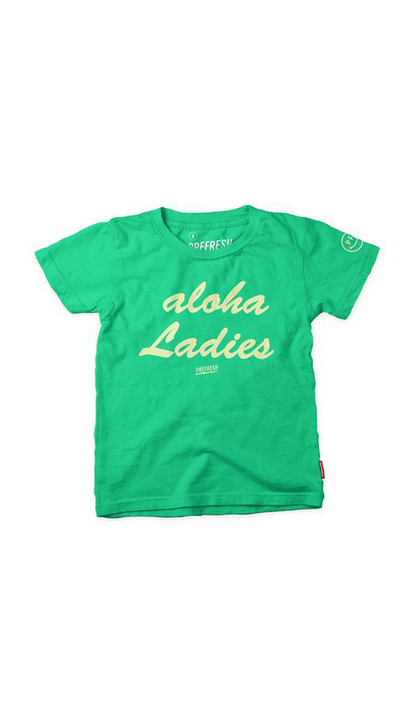 Prefresh, Aloha Ladies Tee - Green