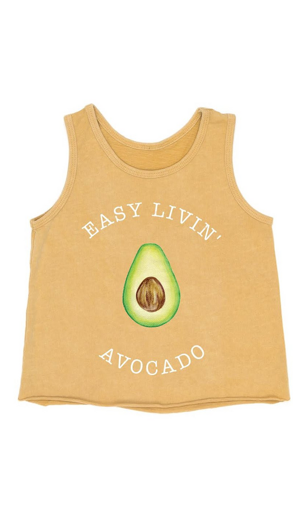 Children of the Tribe, Easy Avo Singlet - Muted Mustard