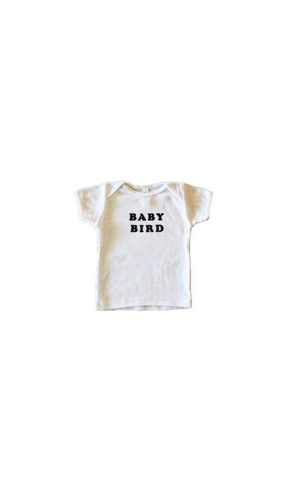 The Bee + The Fox, Baby Bird Tee - White
