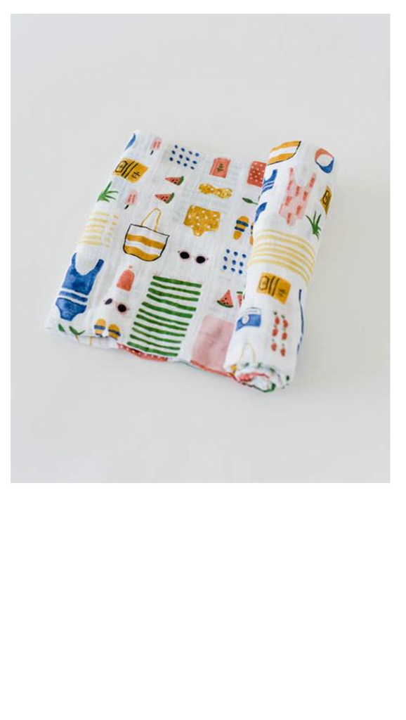 Cotton Muslin Swaddle Single - More Colors