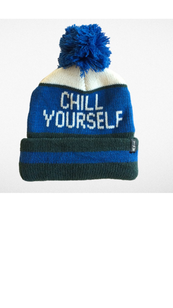 Tiny Whales, Chill Yourself Beanie - Navy