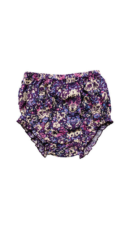 Children of the Tribe, Blooms Bloomers - Purple Floral