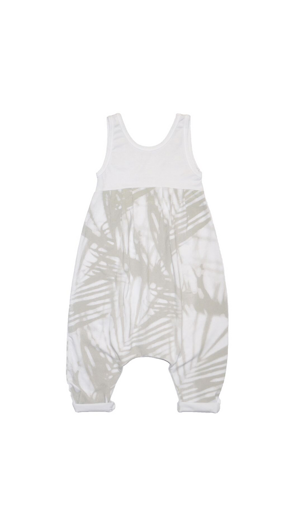 Little Urban Apparel, Bubble Romper - Palm Shadow
