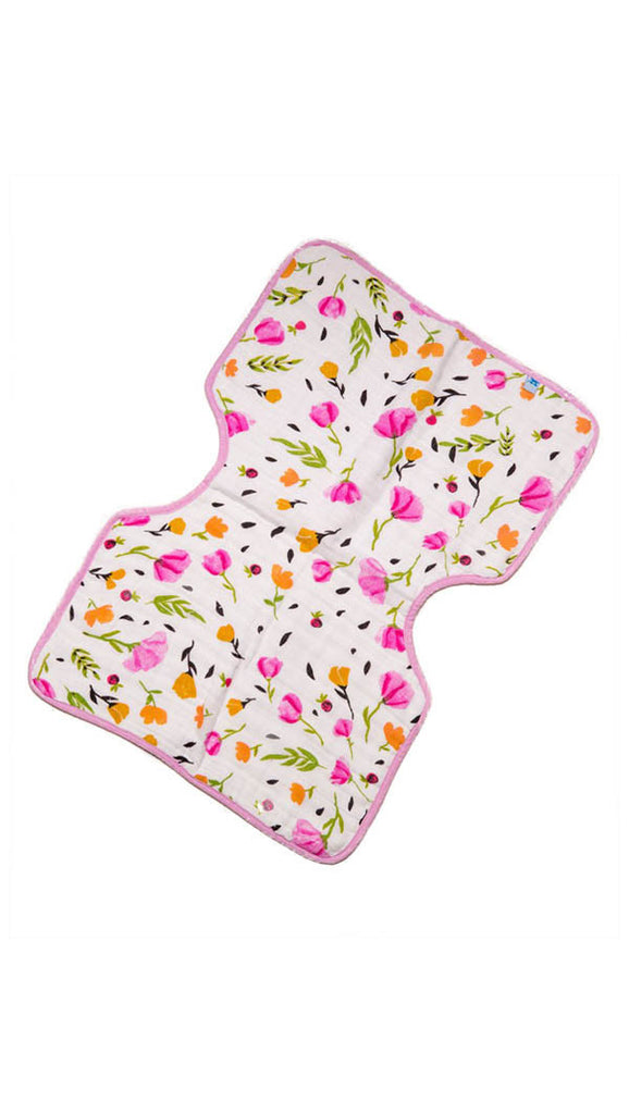little unicorn cotton burp cloth - more colors