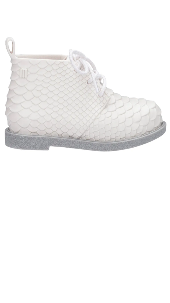Mini Python Boot - White