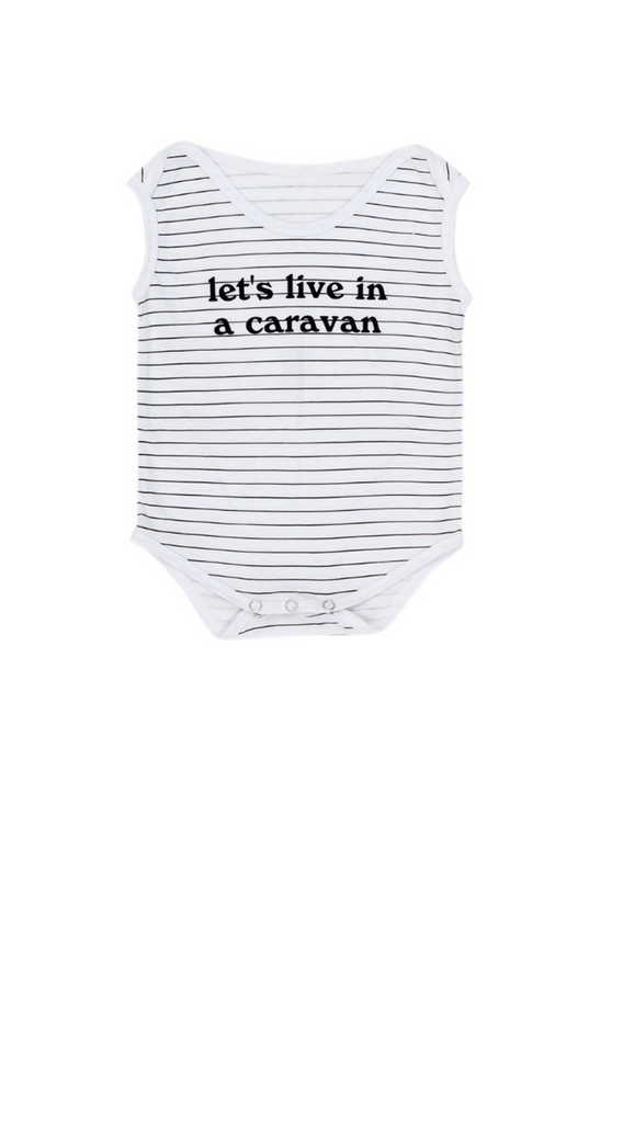 Children of the Tribe, Singlet Onesie - Caravan