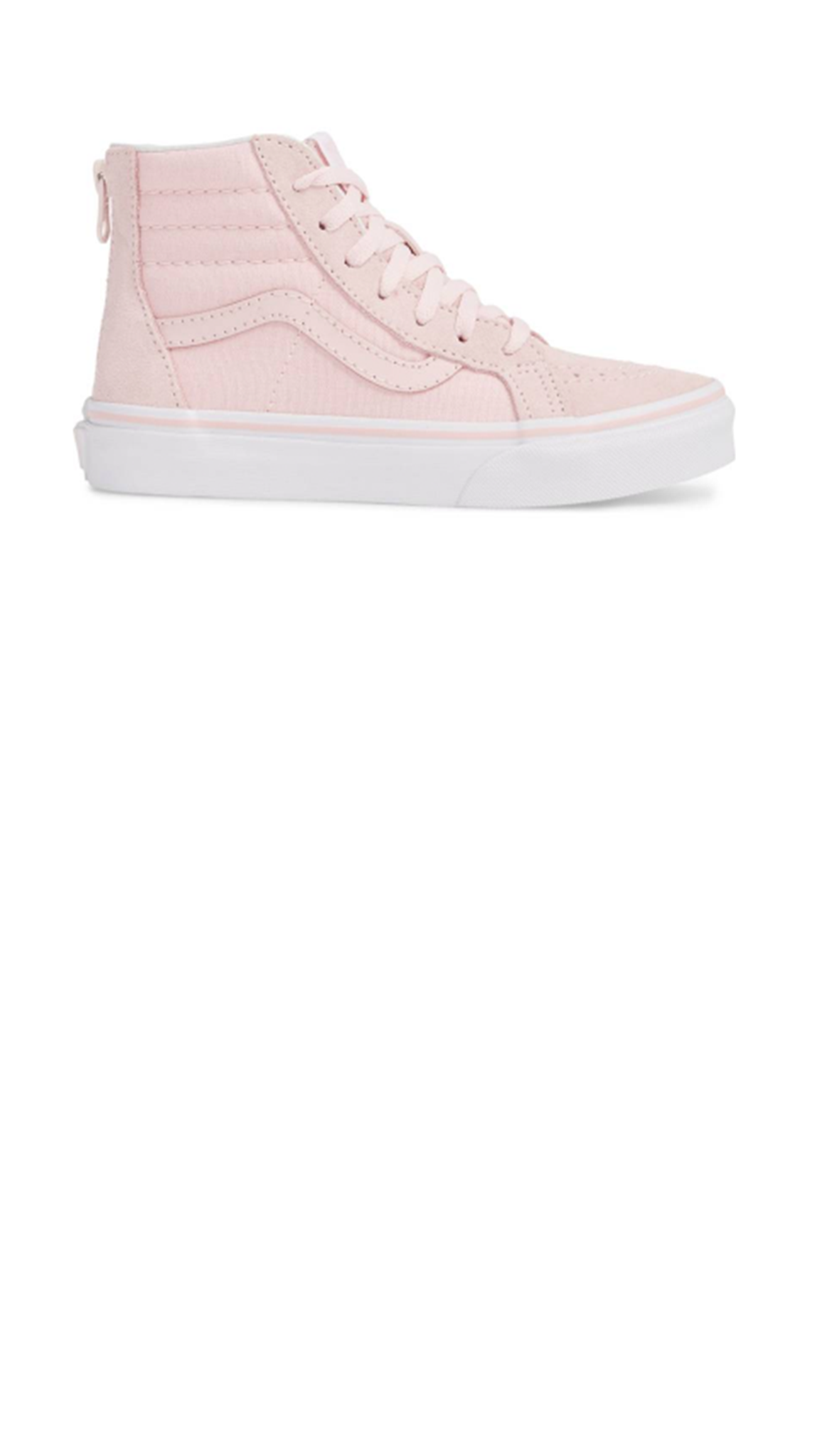 Sk8-Hi Zip Chalk Pink/True White