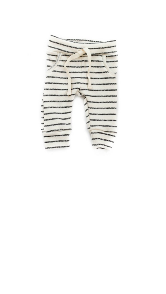 Babysprouts co, Jogger Sweats - Charcoal Stripe