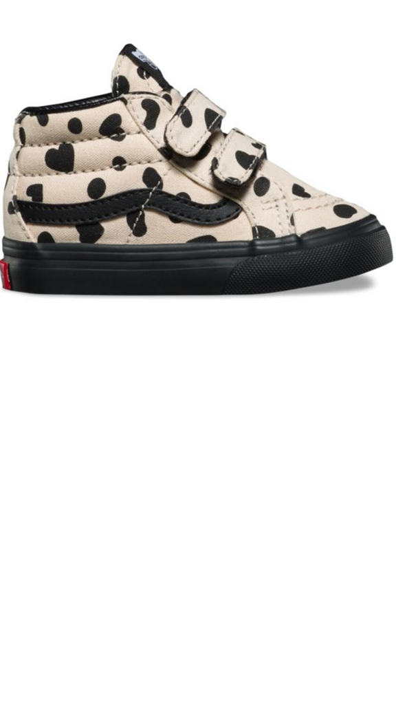 SK8-Mid Reissue - Cheetah Hearts (Sand Dollar/Black)