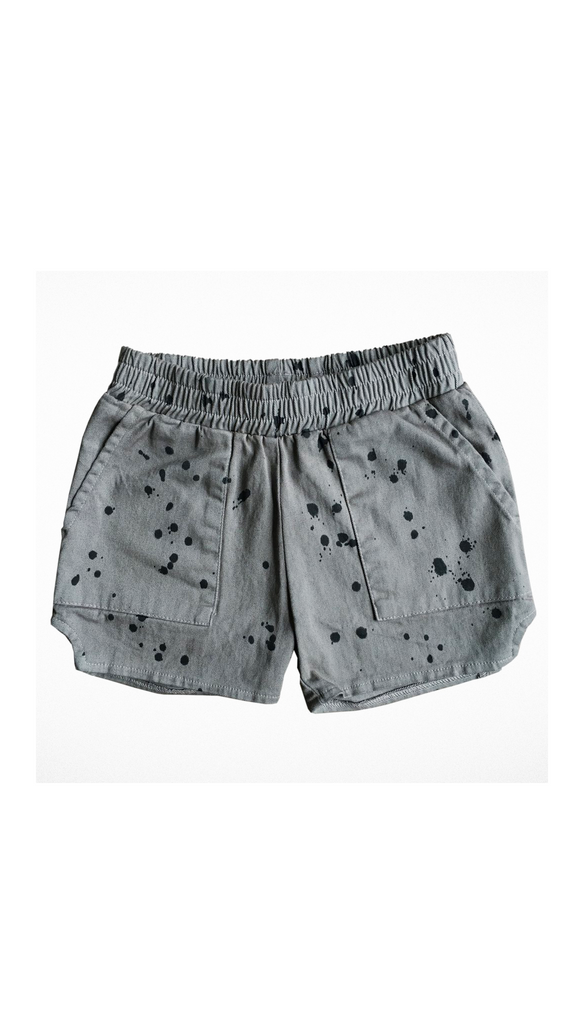 Tiny Whales, Dad Shorts - Gray