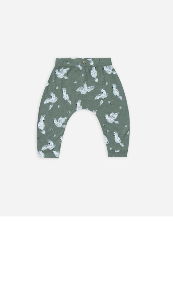 Cockatoo Slouch Pant - Rainforest