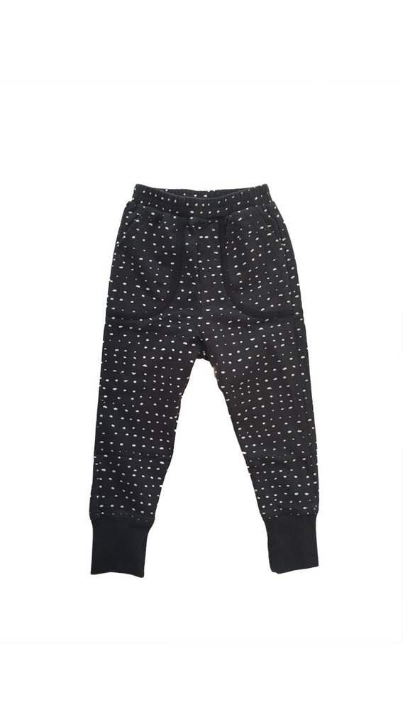 Zuttion Trackies Random Dot - Charcoal