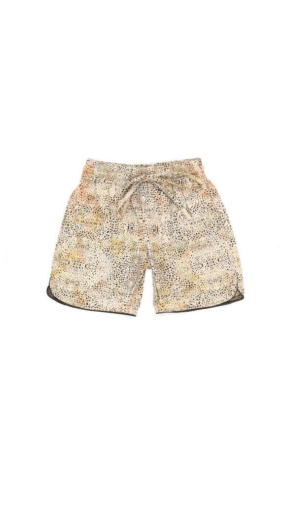 children of the tribe mover and shaker drawstring shorts - animal