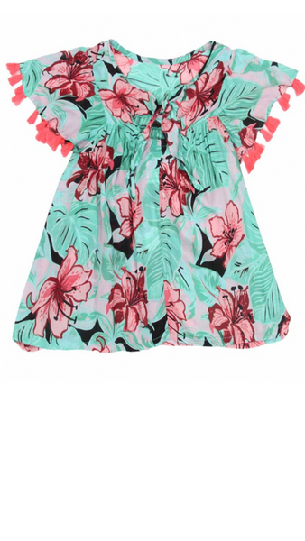 Robin Dress - Tropical Haze Guava