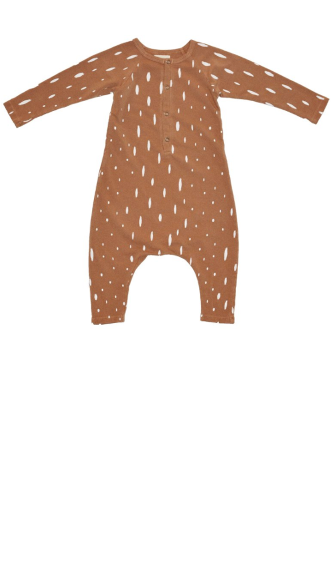 Fawn Romper - Brown