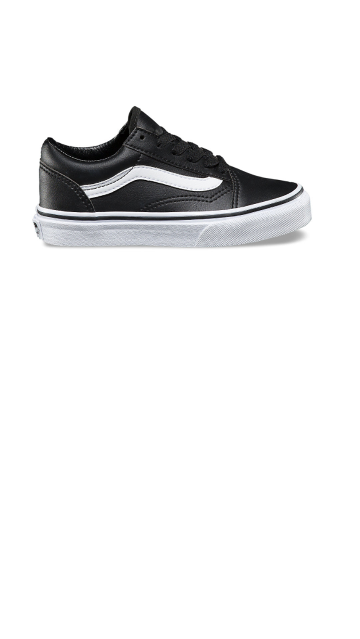 Vans, Old Skool Classic Tumble - Black/ True White