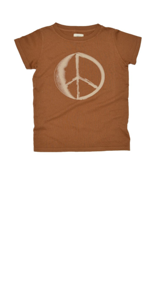 Peace Moon T-Shirt - Clay
