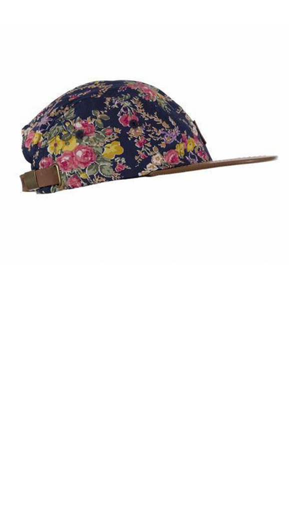 Beau Hudson, Cap - Floral on Tan