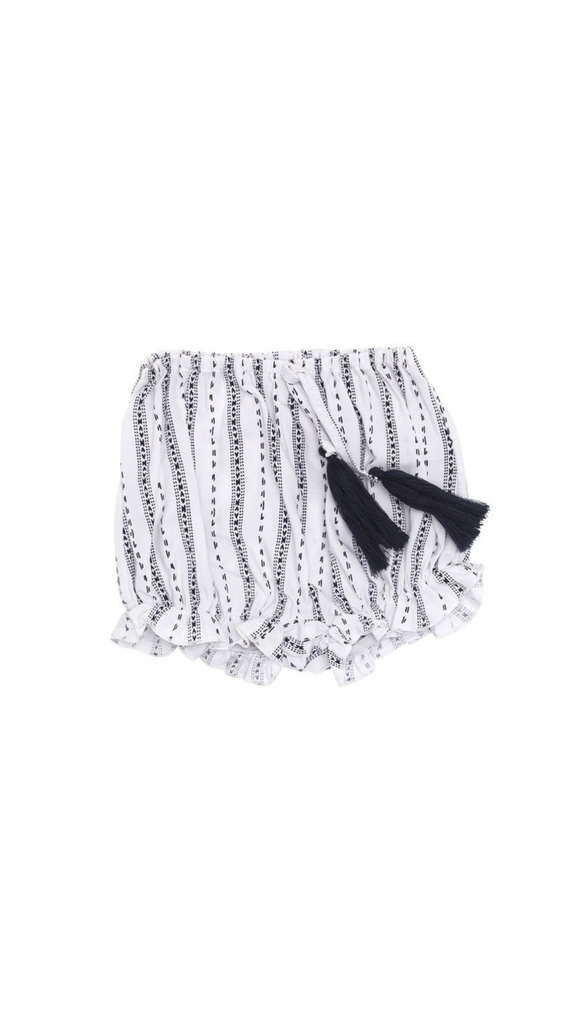 Frankie Jones, Casablanca Shorties - White/Black