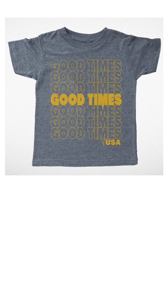Good Times USA Tee - Grey