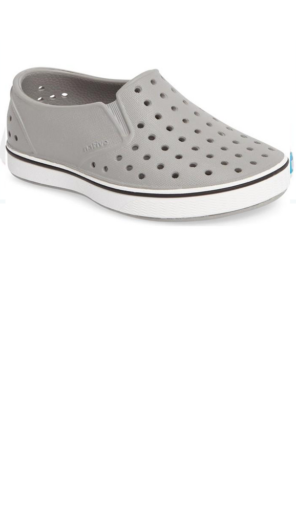 Miles Child - Pigeon Grey/Shell White