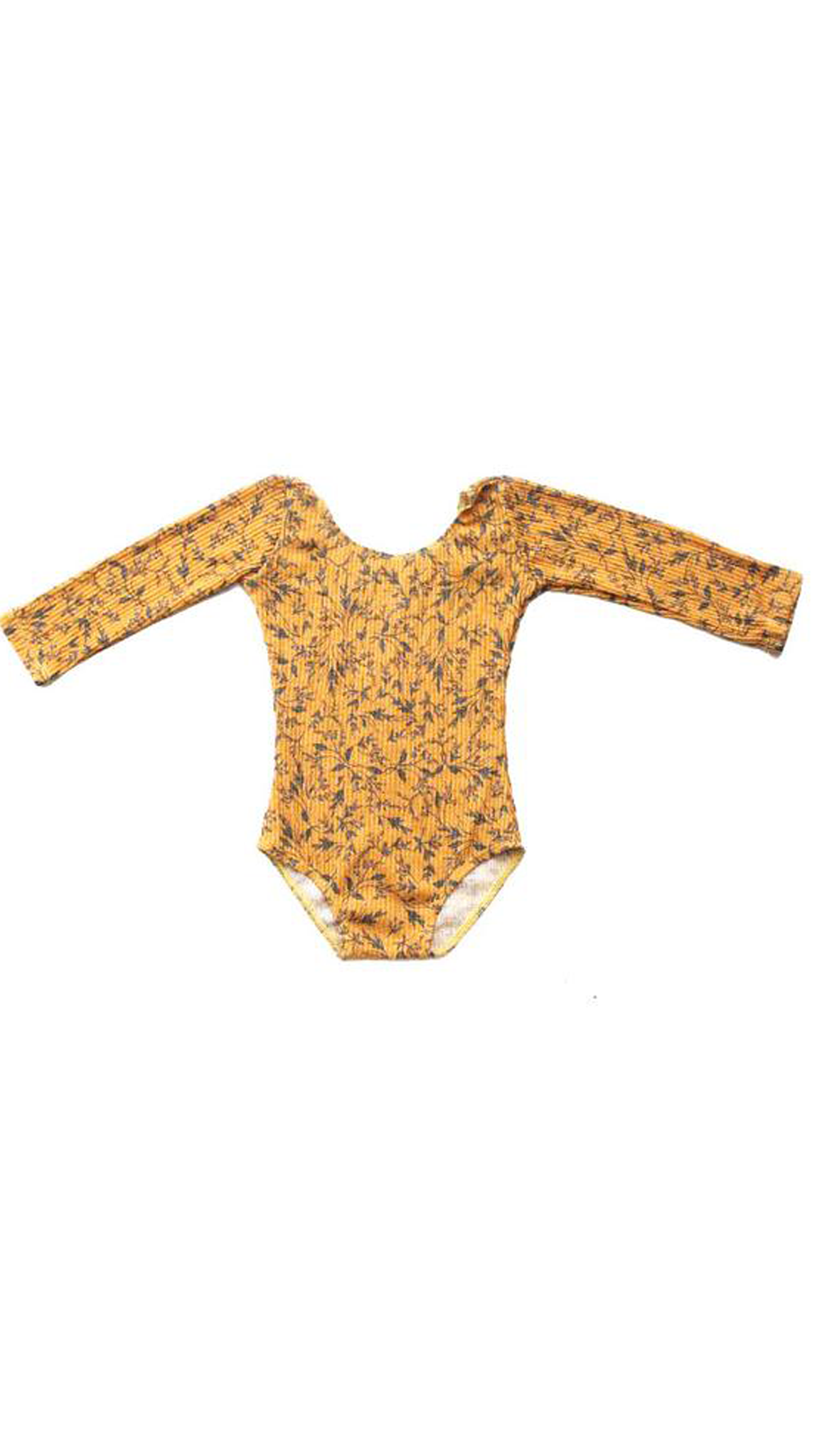 Harlow Jade, Sunny Bodysuit - Yellow Floral