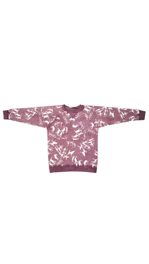 Zuttion, Raglan Sweater - Maroon
