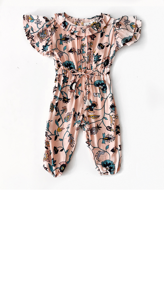Minnow Jumpsuit - Blush Wylde