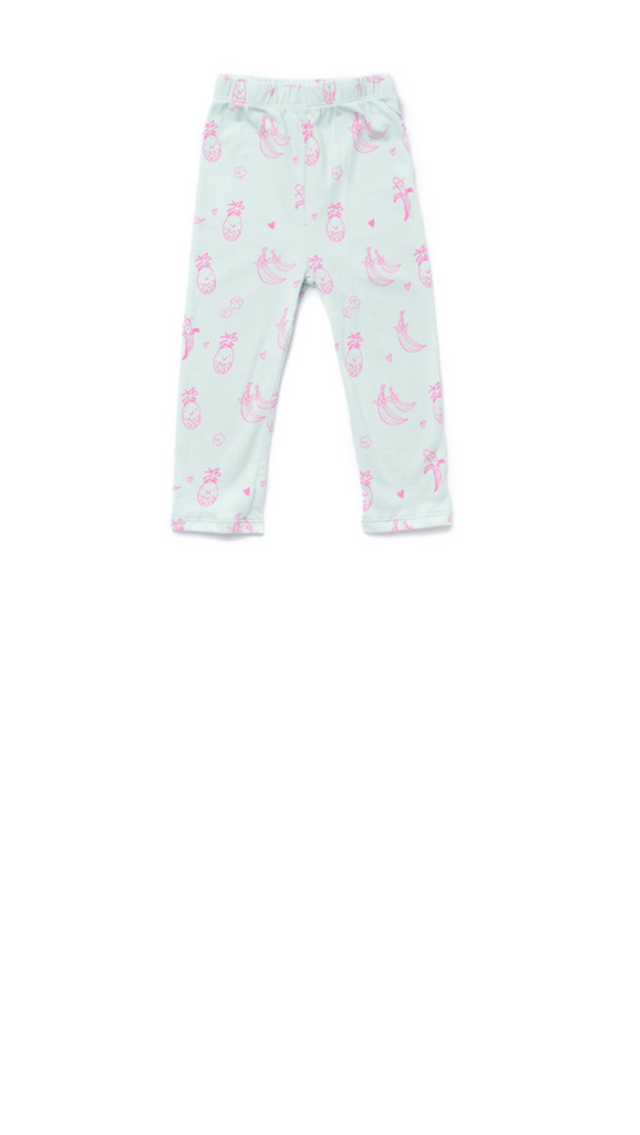 Kira Kids, Fruit Legging - Mint