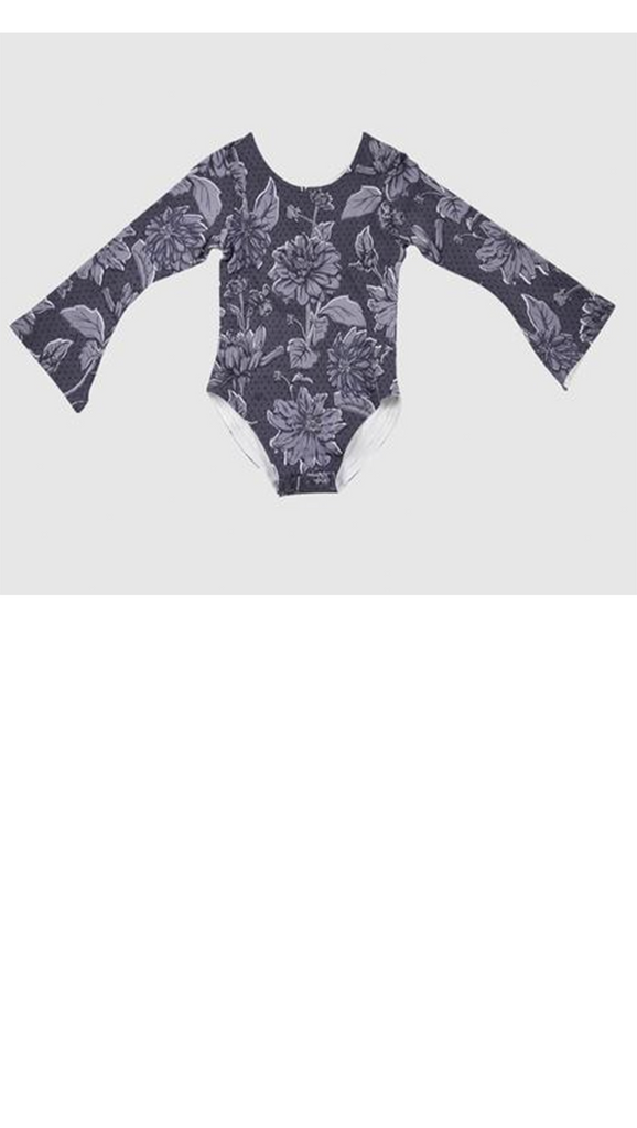 Bell Sleeved Leotard - Flowerfield