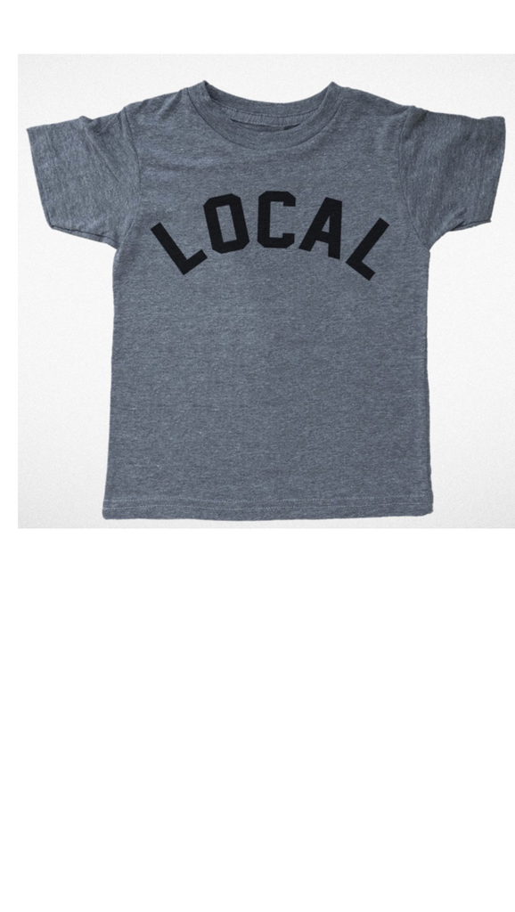 Tiny Whales, Local Tee - Grey