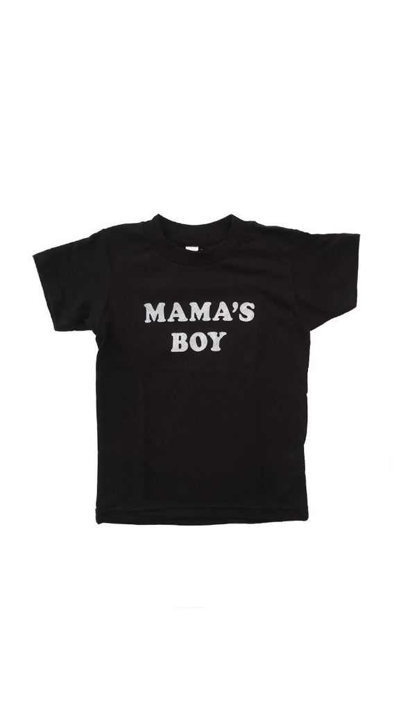 The Bee + The Fox, Mama's Boy Tee - Black
