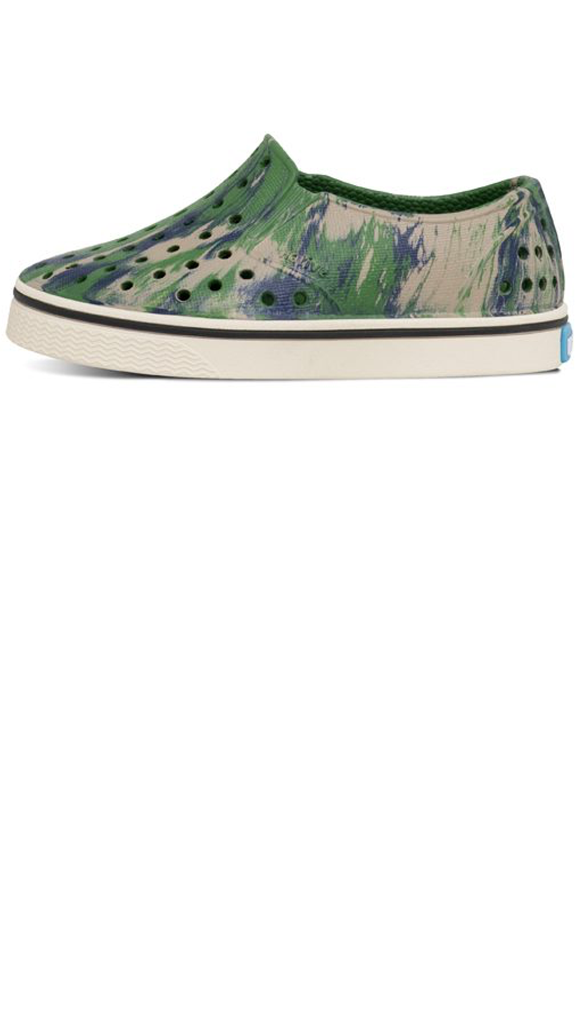 Miles Marbled Chid - Rio Green/ Bone White