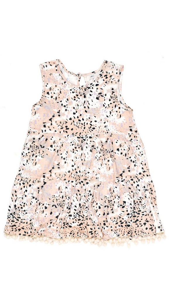 Children of the Tribe, Pom Pom Dress - Marble